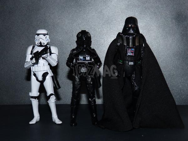 star wars black series tie pilot 17