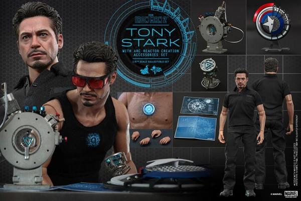 tony stark hot toys im2 2