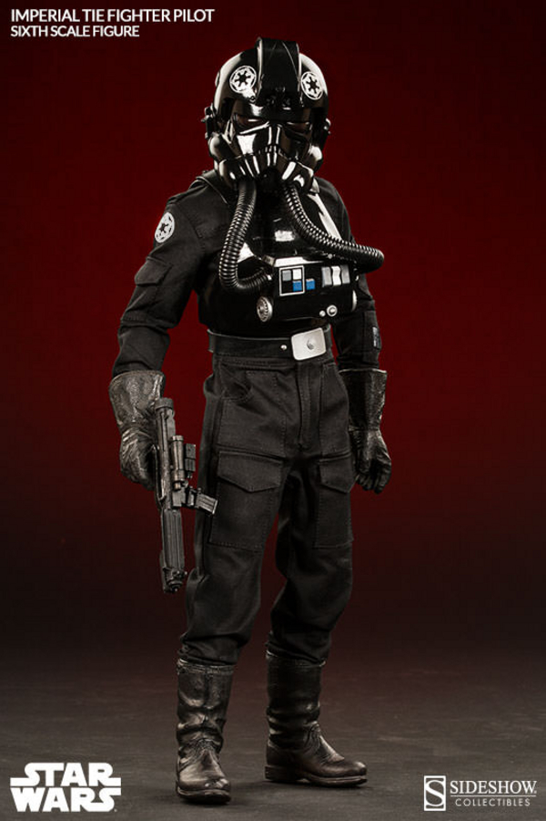 Star Wars Imperial TIE Fighter Pilot SIDESHOW