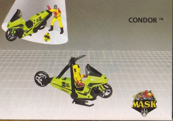 MASK Condor Catalogue