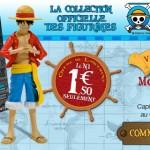 Des figurines One Piece par Hachette Collection