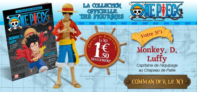 Figurines One piece Hachette Collections : Para BD  Page 4