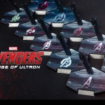 Avengers : Age of Ultron : le line-up Hot Toys