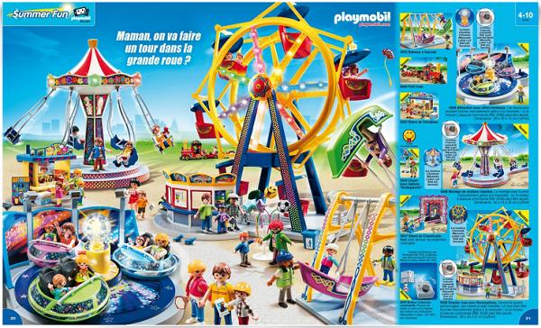 catalogue playmobil 2015 fete foraine