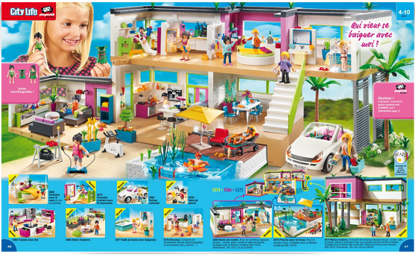 Playmobil nouveaut s 2015 for Casa moderna de lujo playmobil
