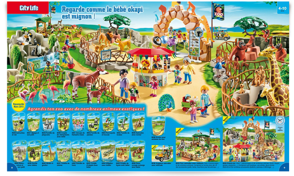 catalogue playmobil 2015 zoo