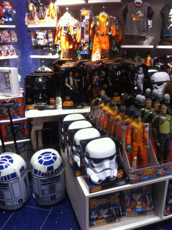 Star Wars REbels exclu Disney Store