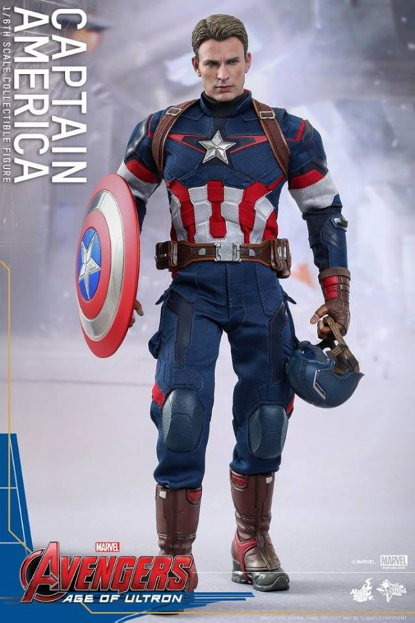 hot toy captain america 2