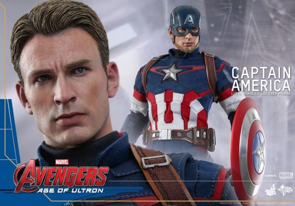 hot toy captain america 3