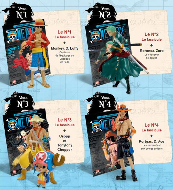 Figurines One piece Hachette Collections : Para BD  Page 6
