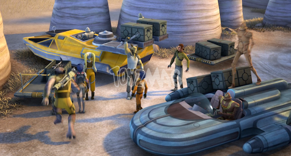 speeders star wars rebels