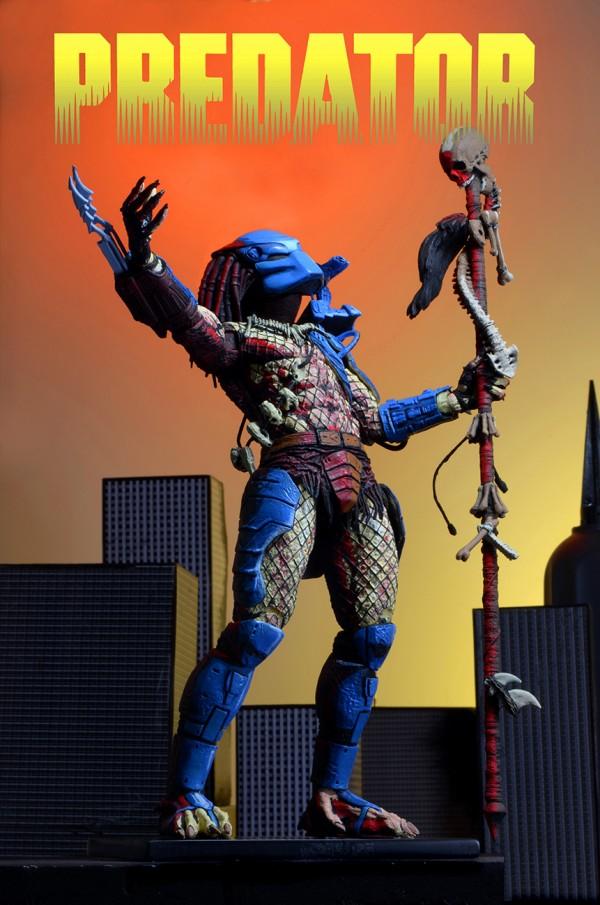 Predator – 7″ Scale Action Figure – 25th Anniversary Dark Horse Comic Book Predator