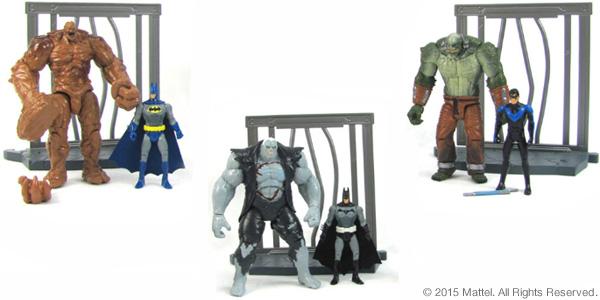 "DC Comics Multiverse 4"" Figure 2-Packs"