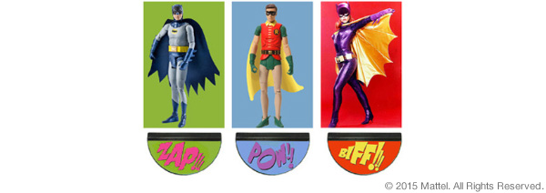 "Batman™ Classic TV Series 6"" Multipack"