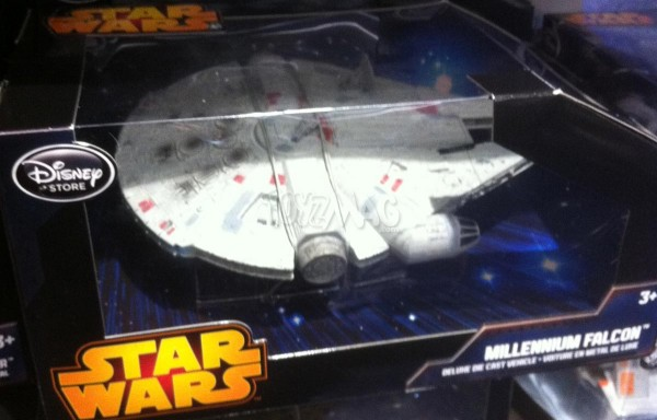 Star Wars die cast Disney store exclu