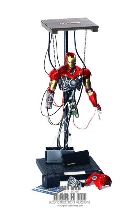 Iron Man: 1/6th scale Mark III (Construction Ver) Final Product