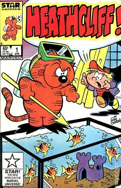 LES ENTRECHATS Comics HeathCliff (3)
