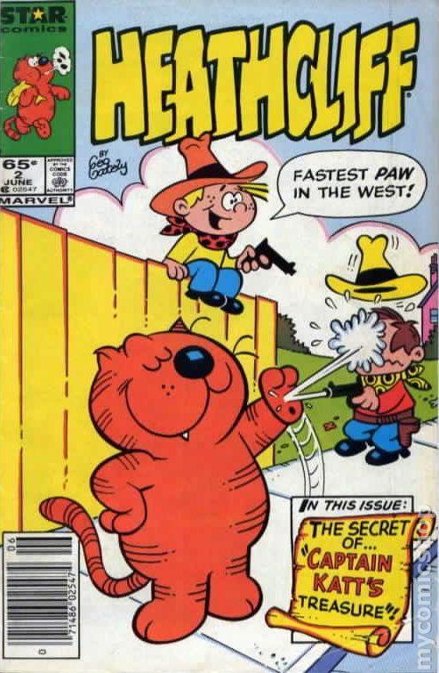 LES ENTRECHATS Comics HeathCliff (4)