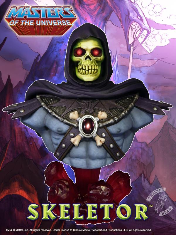 Skeletor Statue Buste MOTU