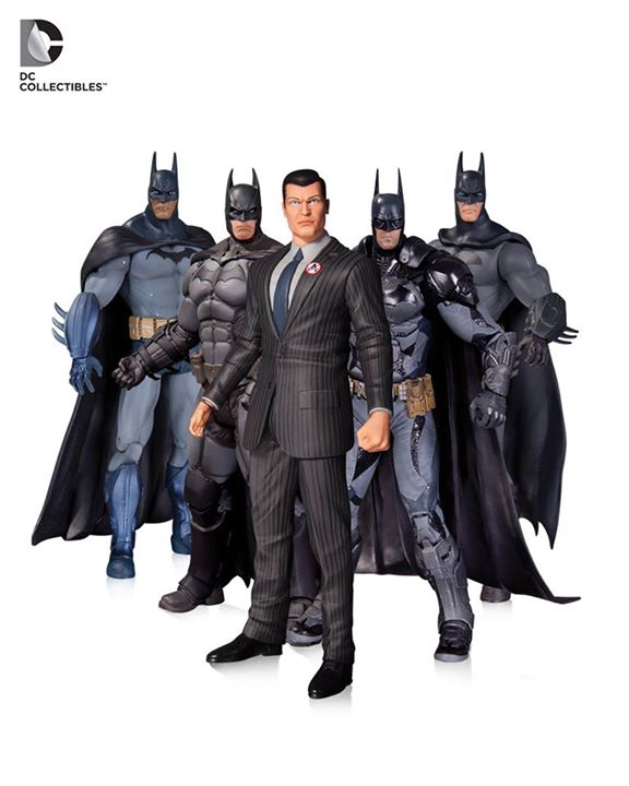 Arkham Batman Action Figure Five Pack