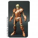 bronze skeleton