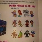 Mystery Minis Disney Heros vs Vilains par Funko