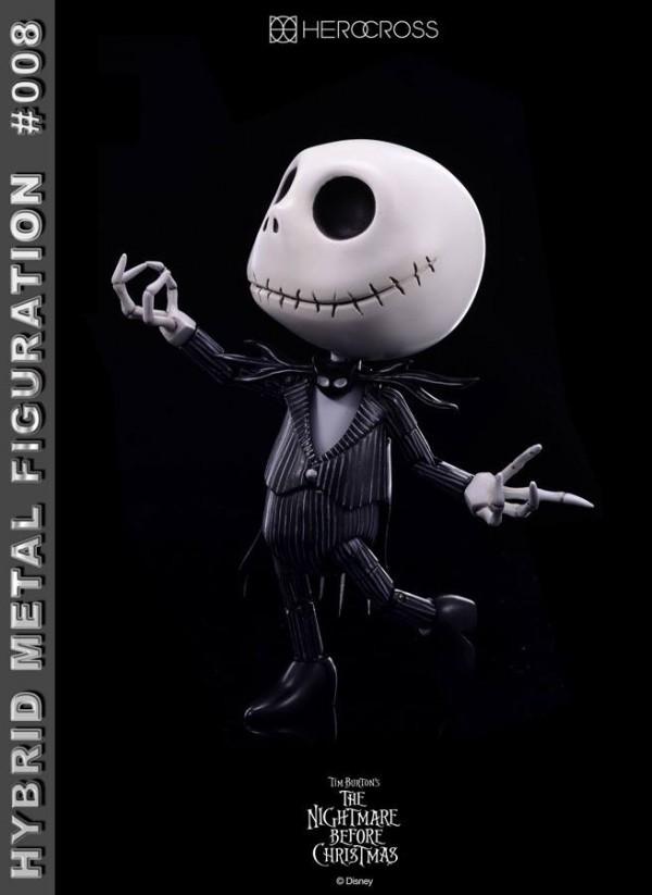 Hybrid Metal Figuration #008: Jack Skellington (Simple Version) by Herocross