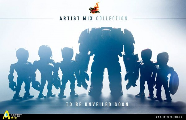 hot toys artist mix collection teaser