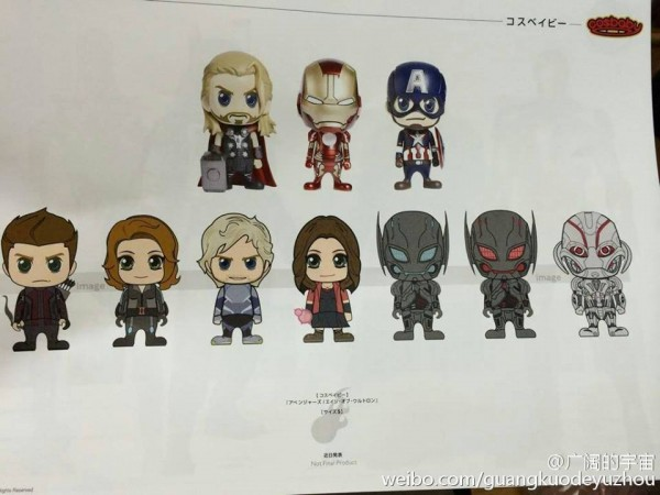 hot toys marvel catalogue 2015