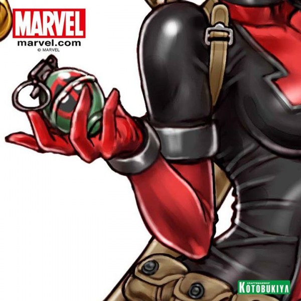 kotobukiya Lady Deadpool