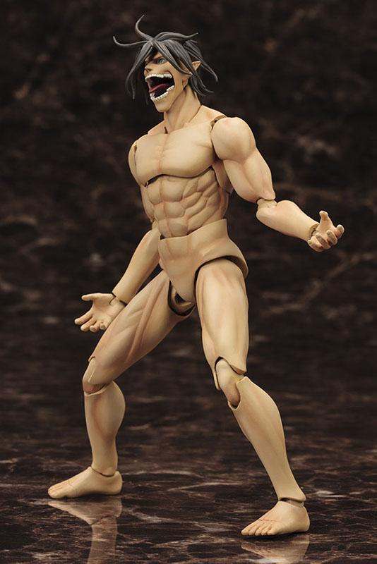 eren yeager kotobukiya model kit