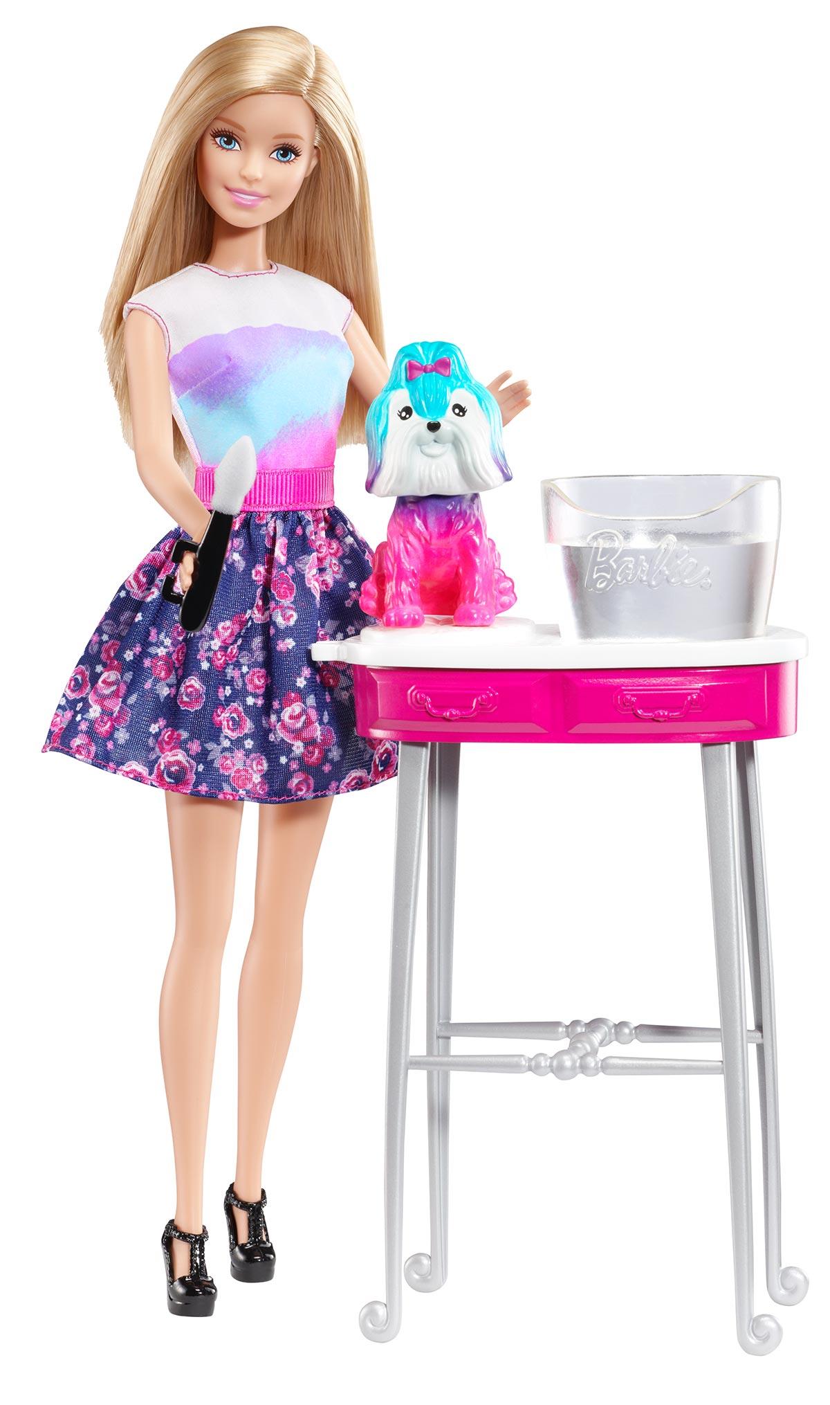 Кукла Barbie Волшебные краски.