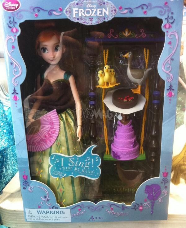 poupée anna chantante Frozen la reine des neiges