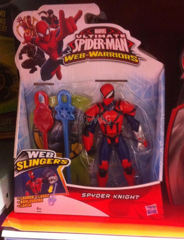 ltimate Spider-Man Web Warrirors de Hasbro : Spider-Man 2099 et Spyder Knight.