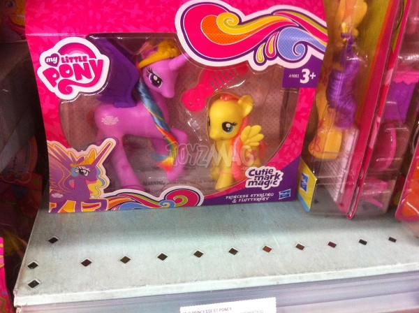 My Little Pony Cutie Mark Magic  Princess Sterling & Fluttershy, et Princess Gold Lily & Pinkie Pie.