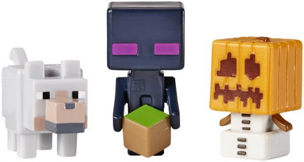 Minecraft Pack de 3 Assortiment