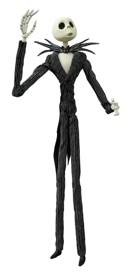 Nightmare Before Christmas Jack Skellington 16″ Coffin Doll