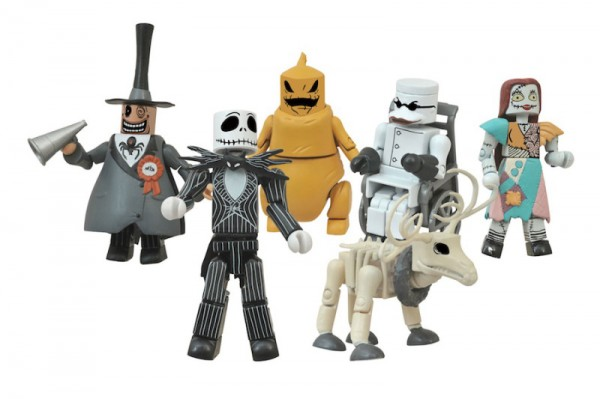 Nightmare Before Christmas Minimates Foil Bag Asst.