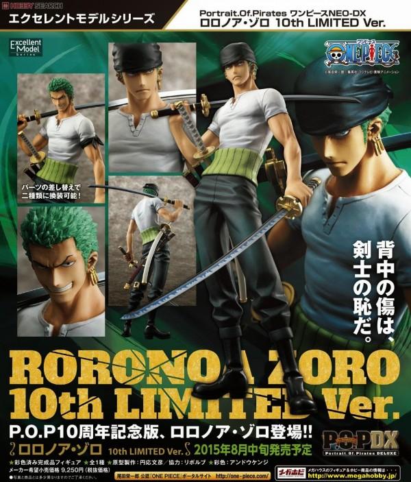 P.O.P. NEO-DX Roronoa Zoro 10th LIMITED ver.  (1)