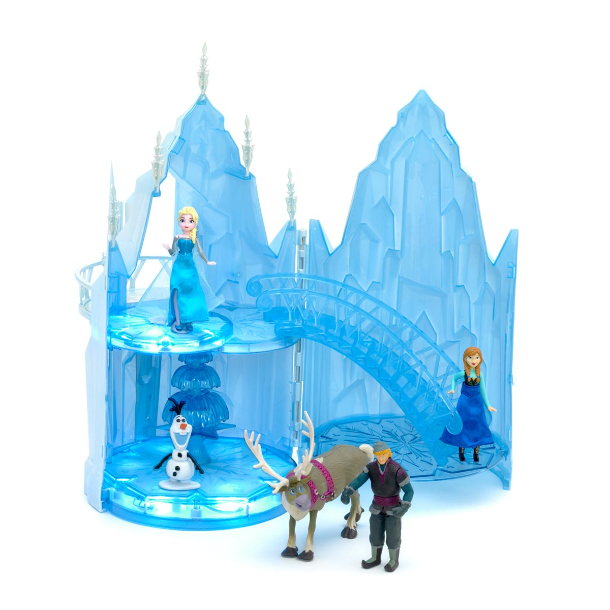 Les nouveaut s princesses disney - Chateau elsa reine des neiges ...