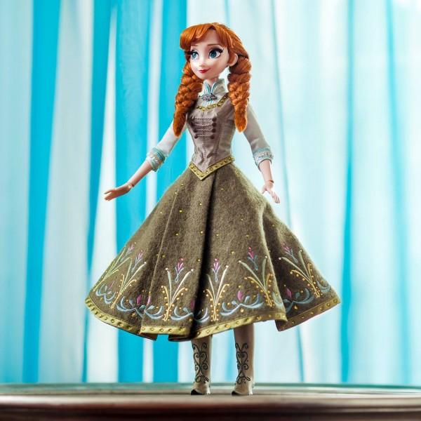 Poupée Anna de La Reine des Neiges en édition limitée