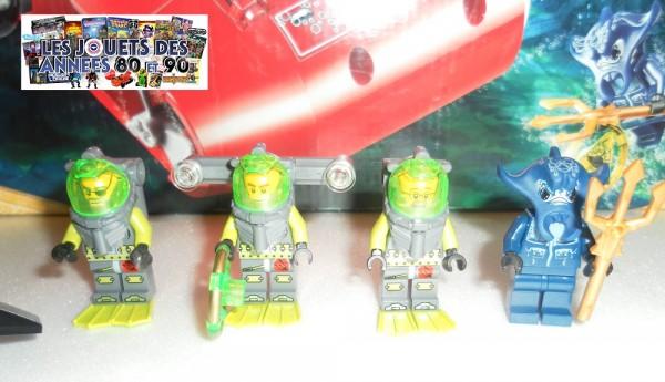 Minifigurines Lego Atlantis