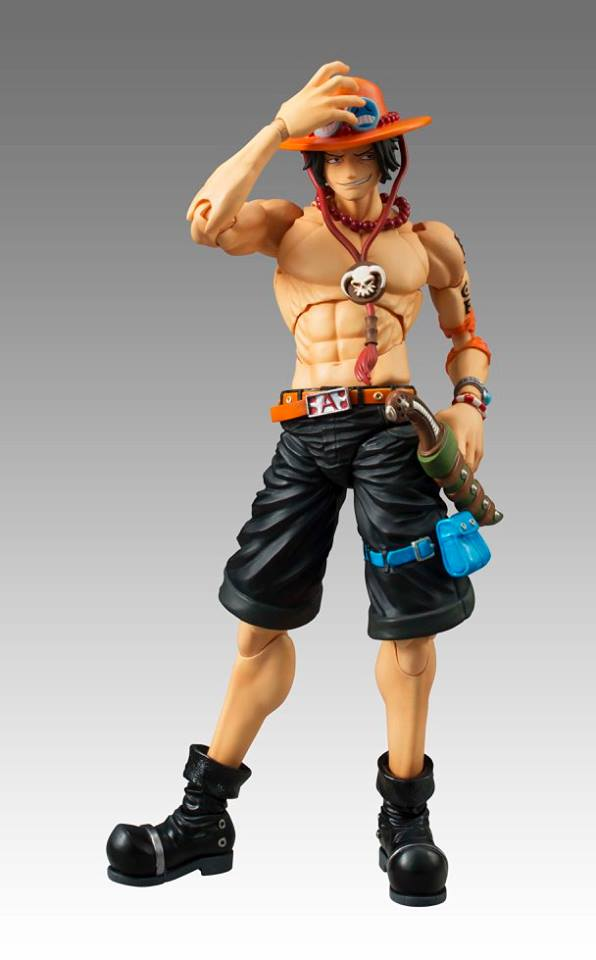 VARIABLE ACTION HEROES- ONE PIECE- ACE.