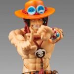 One Piece une figurine acticulée de Ace par MegaHouse