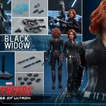 Avengers Age of Ultron : Black Widow par Hot Toys