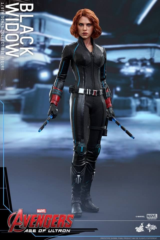 ToyzMag.com » Avengers Age of Ultron : Black Widow par Hot ...