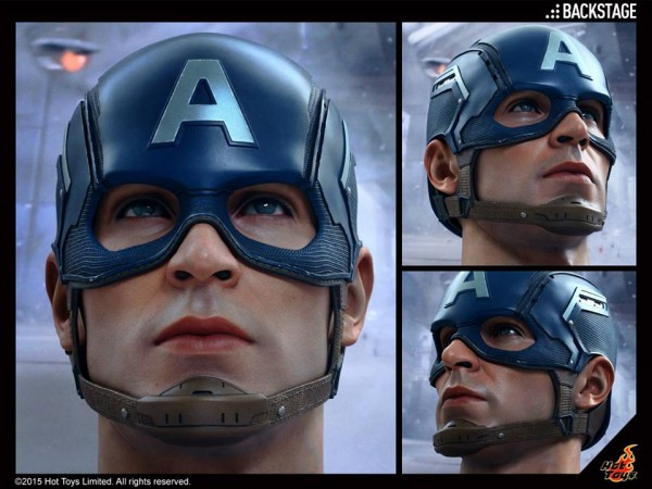 expo avengers hot toys cap
