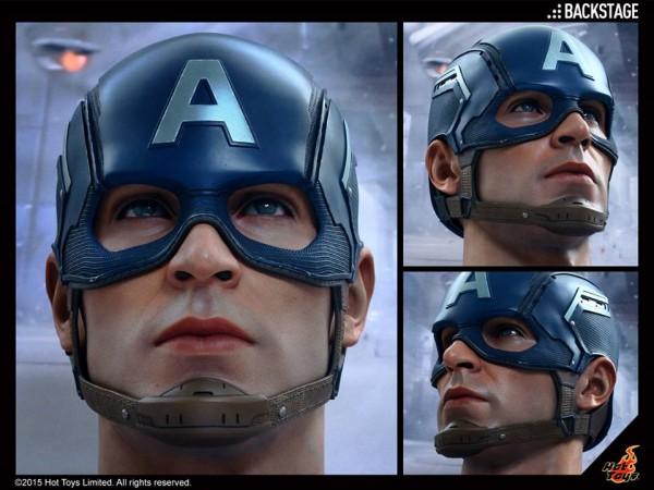 expo avengers hot toys cap