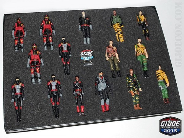 Coffret GI JoeCon 2015 Tiger Force Vs Iron Grenadiers