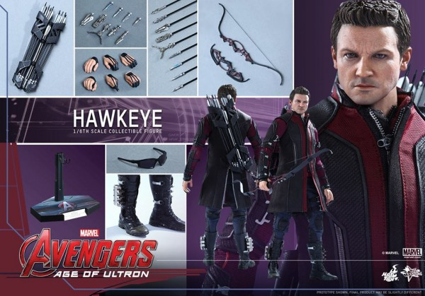 hawkeye avengers hot toys 1